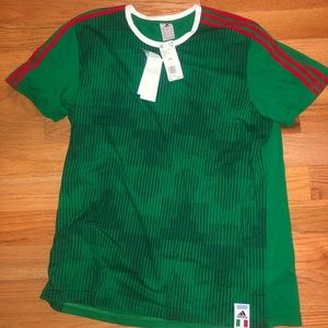 Adidas Mexico national team tee